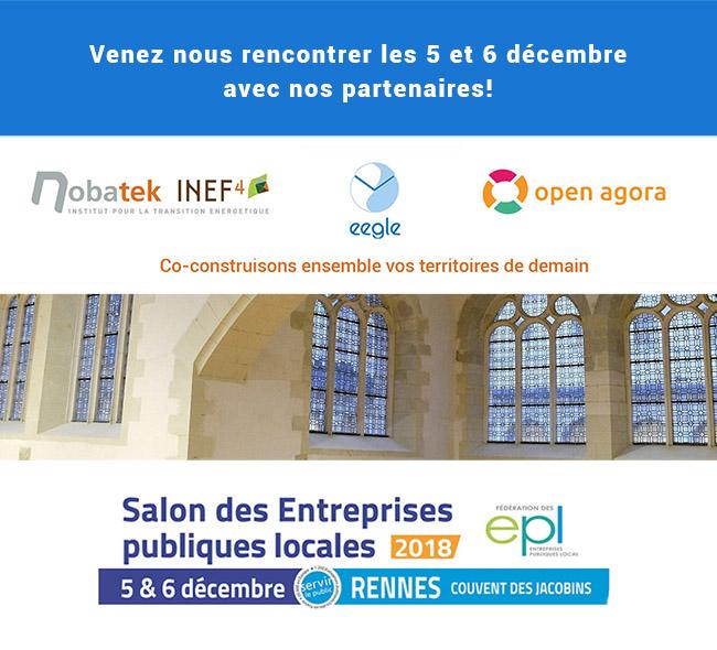 EEGLE sera présent au congrès des EPL 2018 à Rennes
