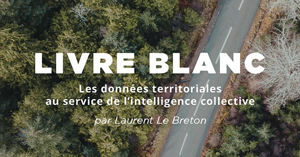 """Livre Blanc """"Les données territoriales au service de l'intelligence humaine collective"""""""