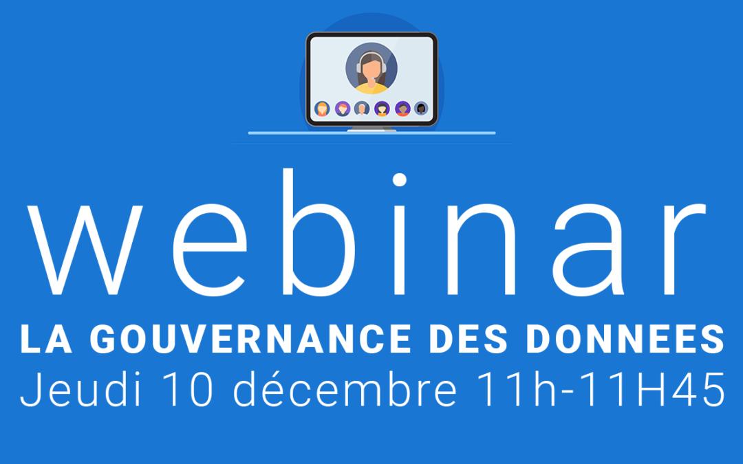 """Webinar """"La Gouvernance des Données territoriales"""" par EEGLE"""
